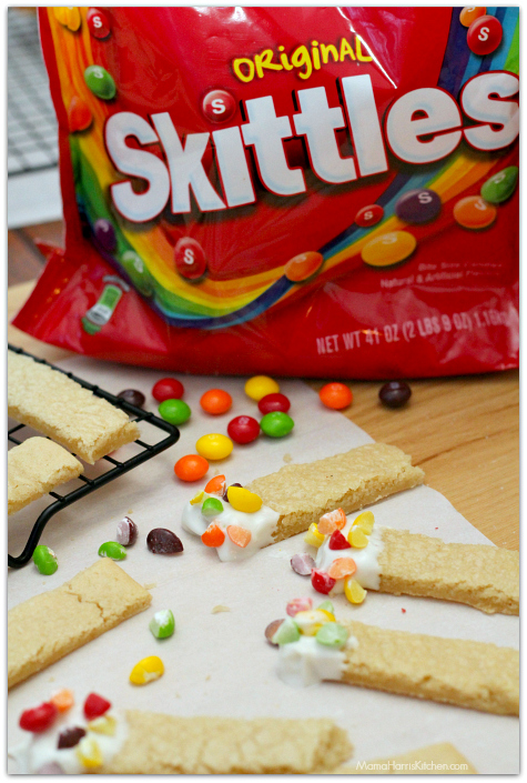 Skittles® Cookie Sticks in Fruity Yogurt Parfaits for your BIG Game Day Party! #GameDayGlory AD   Mama Harris' Kitchen