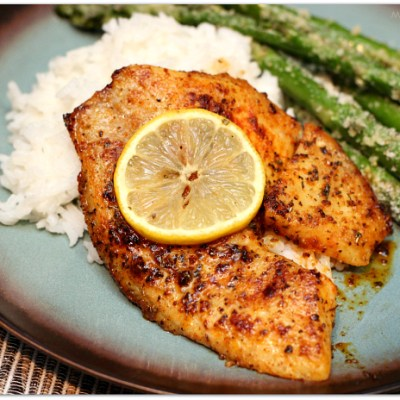Quick Pan-Fried Tilapia | Mama Harris' Kitchen