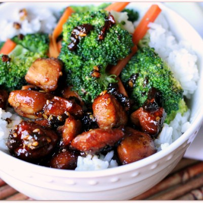 Weeknight Dinner Idea: Quick & Easy Chicken Teriyaki Bowl | Mama Harris' Kitchen