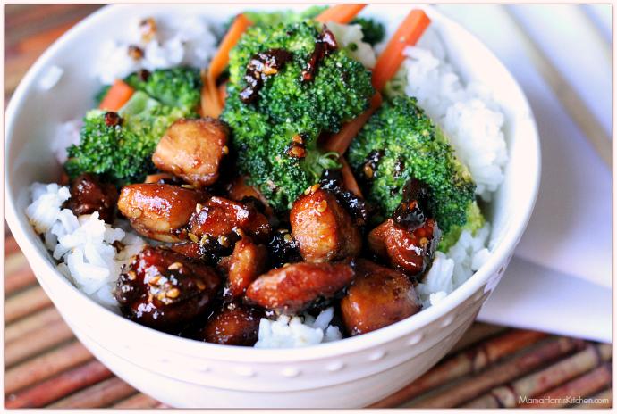 Quick & Easy Chicken Teriyaki Bowl