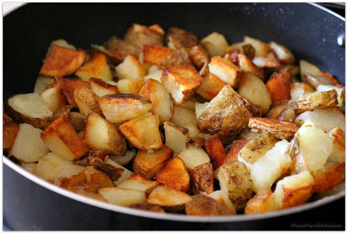 loaded breakfast potatoes | Mama Harris' Kitchen