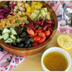 Fresh Lentil Bean Salad