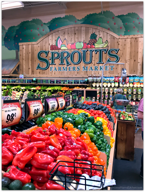 Behind the Scenes at Sprouts Farmers Market | Mama Harris