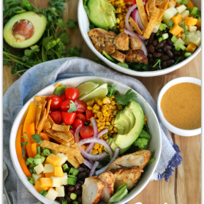 Southwest Grilled Chicken and Avocado Salad