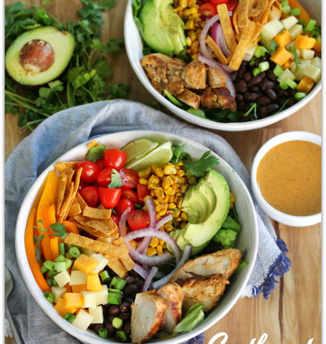 Southwest Grilled Chicken and Avocado Salad with Chipotle Ranch (ad) #BTBGrillingRecipes #IC | Mama Harris' Kitchen