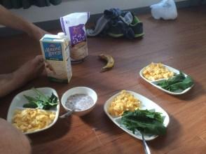 Desayunando en el Dpto