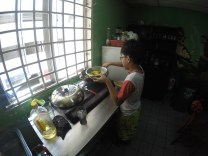 El cocinerito del hostel