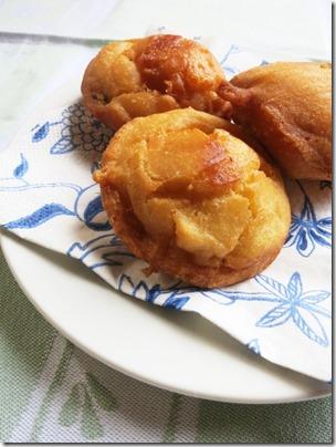 冷凍豆腐のドーナツ