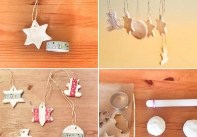 Weihnachtsdeko mit Kindern basteln