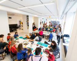 Das Kinderkunsthaus ist Magnet für Familien in München.