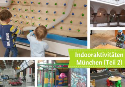 Was man mit Kindern in München bei schlechtem Wetter machen kann.