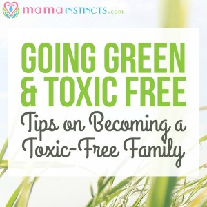 Going green & toxic-free: tips on becoming a toxic-free family