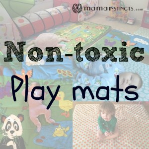 Non-toxic play mats  **updated 2017**