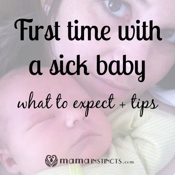 Your baby will eventually catch some virus, be prepared and know what to know expect. #sickbaby #baby