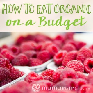 Eating organic on a budget is possible! Find out how. #organic #healthykids #healthyfamily #nongmo #natural