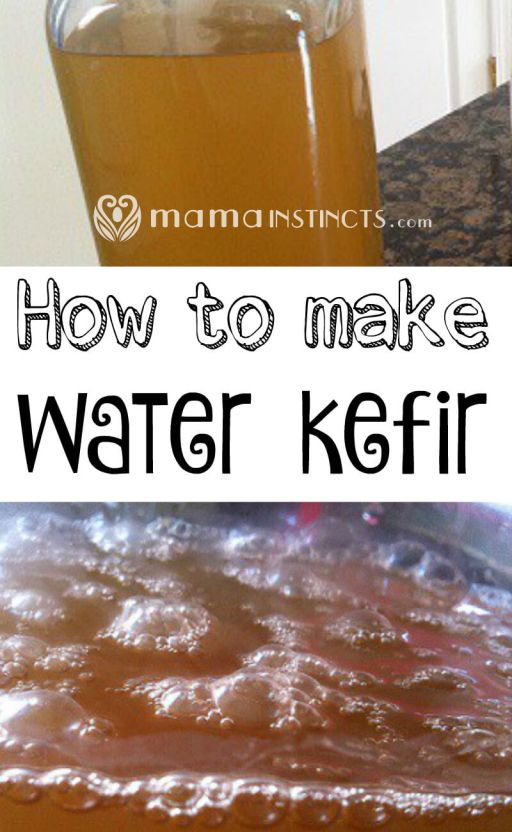 Water kefir is a probiotic drink that you can easily make at home. You can even make it fizzy and drink this instead of soda.