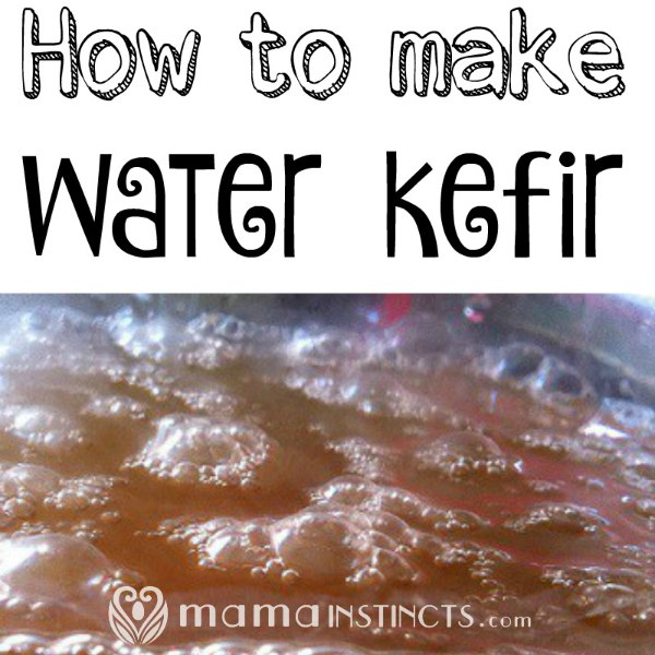 Water kefir is a probiotic drink that you can easily make at home. You can even make it fizzy and drink this instead of soda. #probiotics #waterkefir
