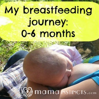 Learn about what to expect during the first 6 months of breastfeeding plus find all the answers to the questions you might have. #breastfeeding #nursing #baby