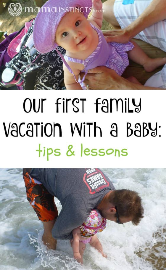 We took our first vacation with a baby and learned a lot along the way. Find out what to expect when traveling by car with your infant.