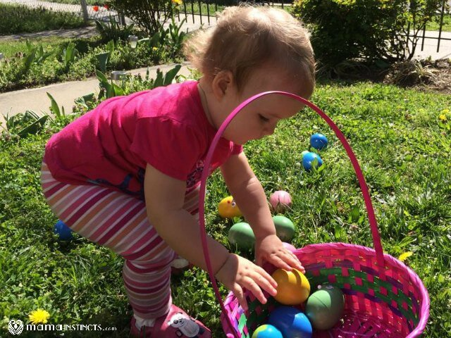 Easter egg hunt for 1 year olds mama instincts save negle Choice Image
