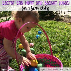 Easter Egg Hunt for 1 Year Olds