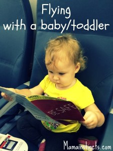 Flying with a baby/toddler