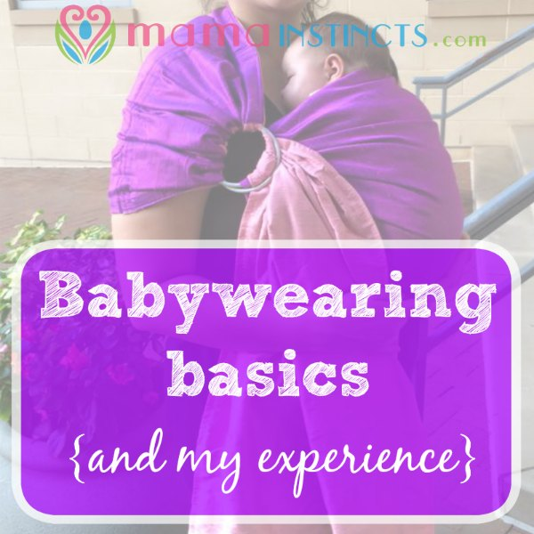 Learn about the different type of carriers you can use and the position they should be worn in. #babywearing