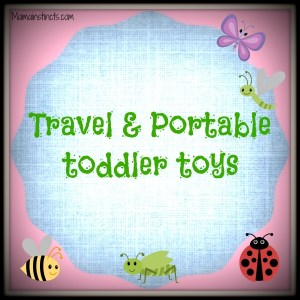 Travel & Portable toddler toys