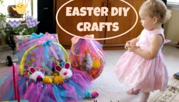 Easter egg hunt for my 1 year old mama instincts easter diy crafts negle Images