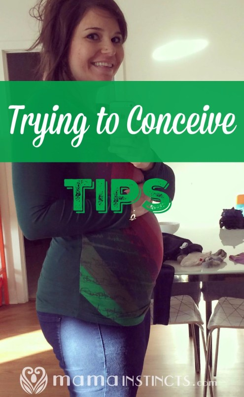 Getting pregnant is not always easy but these tips might help!