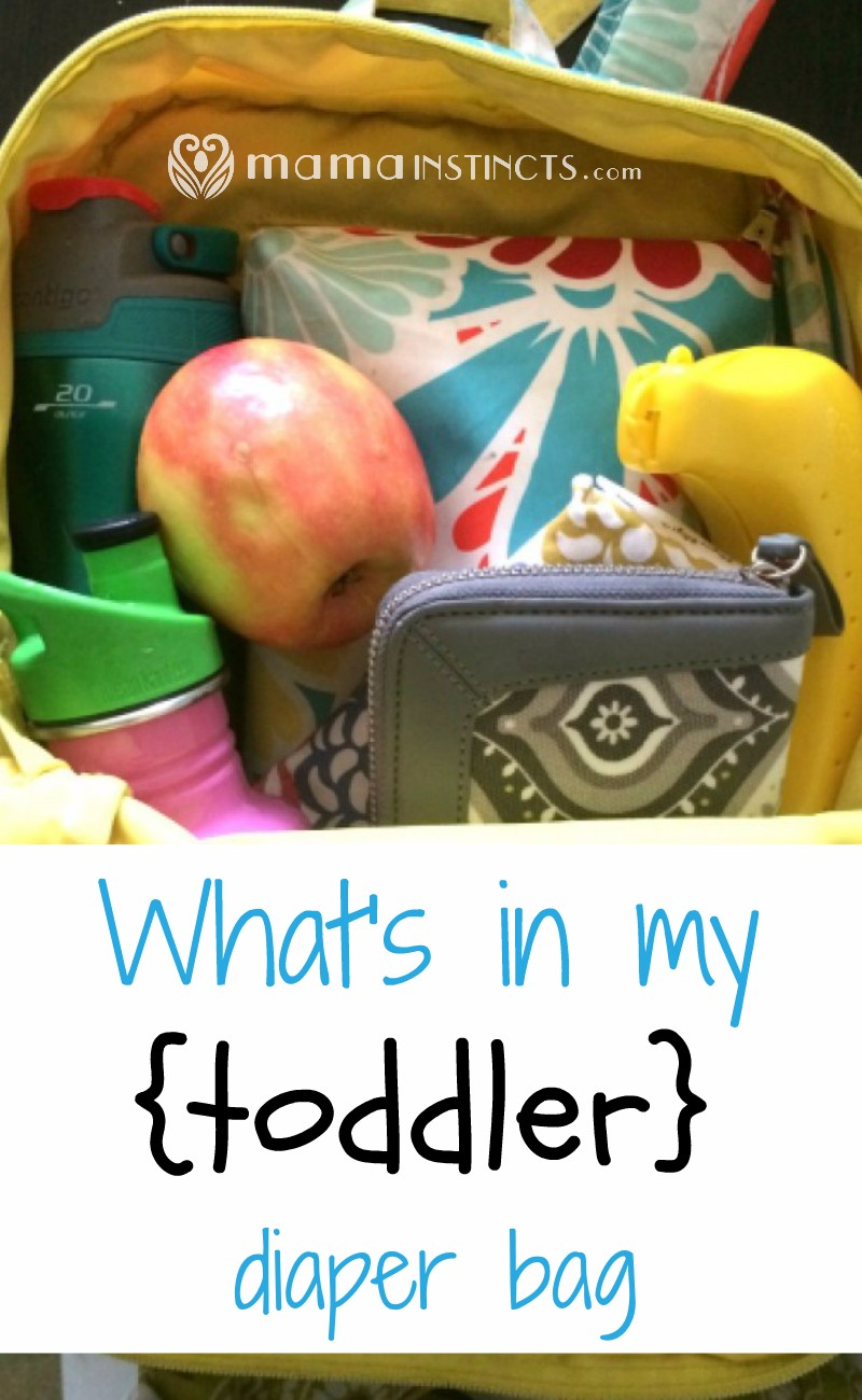 Now that I have a toddler I can carry a lot less in my bag. Find out what are your toddler diaper bag must haves.