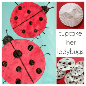 Cupcake-liner-ladybug-craft