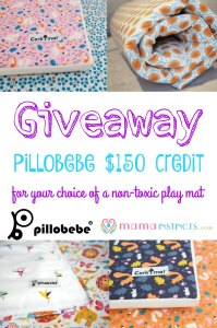 Pillobebe $150 credit giveaway