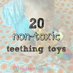 20 non-toxic teething toys