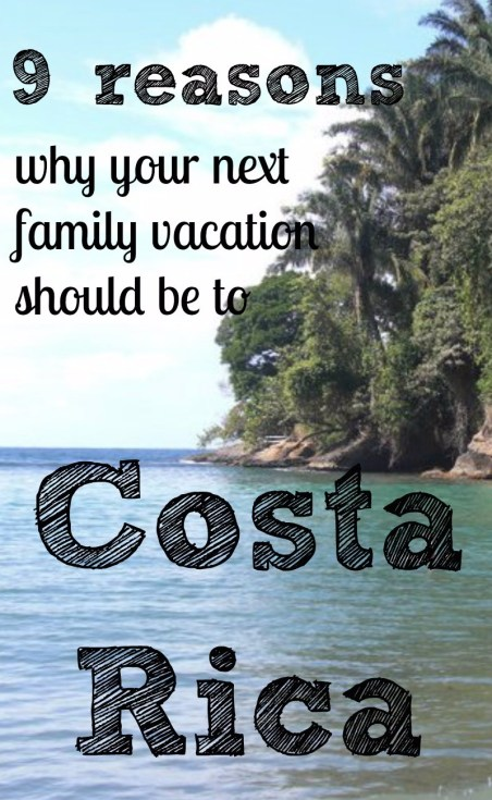 Our family's goal is to travel once a year to a new place and to Costa Rica. Find out why we think Costa Rica is perfect for families.