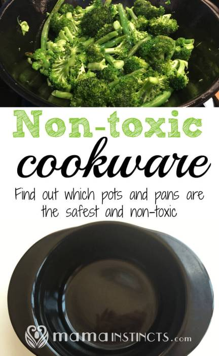 So many pots and pans leach harmful chemicals into your food. Avoid that unnecessary exposure by getting only safe and non-toxic cookware.