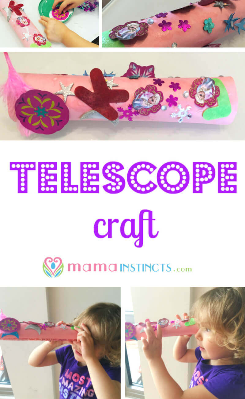 For readers that have children or. Telescope Craft Mama Instincts