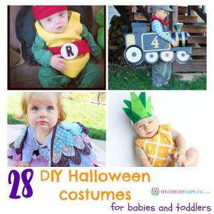 28 DIY Halloween costumes for babies and toddlers