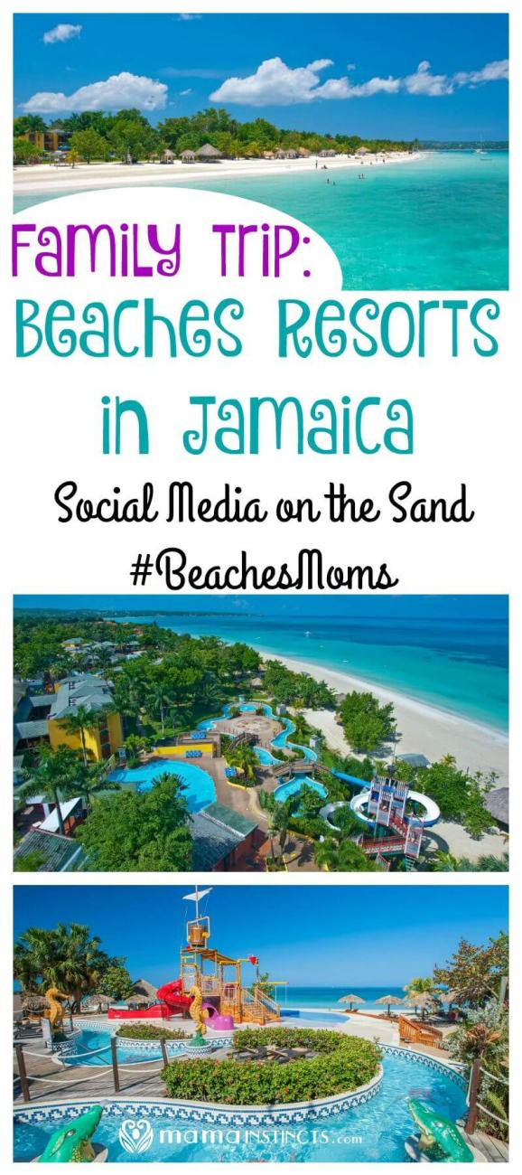 We are invited to #BeachesMoms Social Media on the Sand at Beaches Resorts in Negril, Jamaica. Find out why we're so excited about going to this family-friendly blogging conference and how to follow along.
