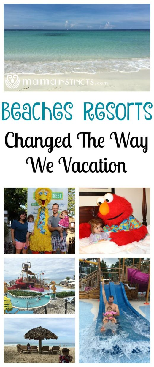 Beaches Resorts is the place to visit if you want a luxury all-inclusive family vacation that the kids will never forget and where the adults will actually get to relax. From Sesame Street to water parks, it has everything you've ever dream of and more.