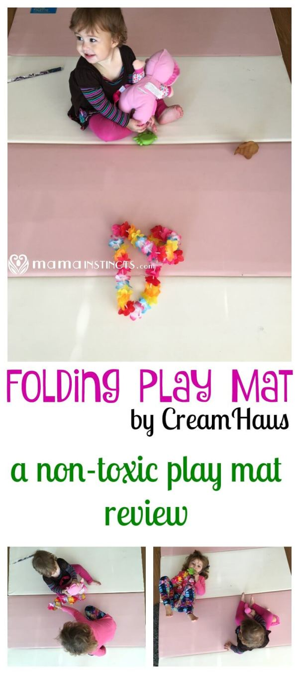 Not all play mats are entirely safe for babies, some are made with PVC, some have lead and other questionable materials. Find out why the Folding Play mat by Cream Haus is truly non-toxic and why we love it so much. Plus grab a special 10% for any play mat by Cream Haus.