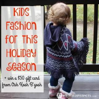 Get your kids ready for the holidays with these adorable outfits from Osh Kosh B'gosh. Plus grab a 25% off coupon code and find out how to win a $50 gift card.