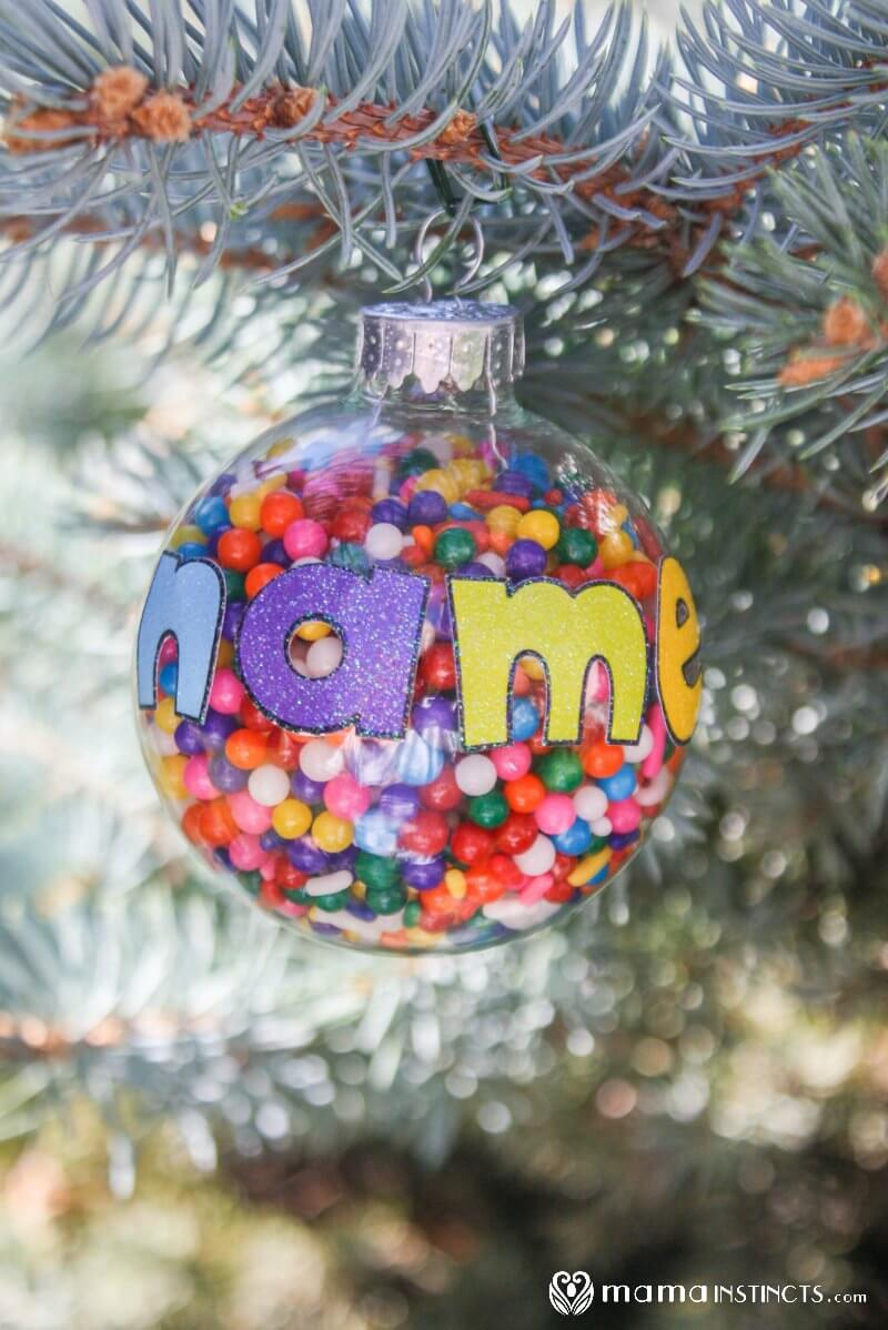 Uncategorized Make Personalized Christmas Ornaments personalized christmas ornament that kids can make mama instincts ornament6