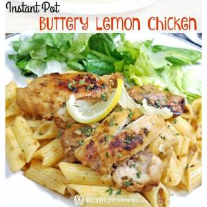Instant Pot Buttery Lemon Chicken