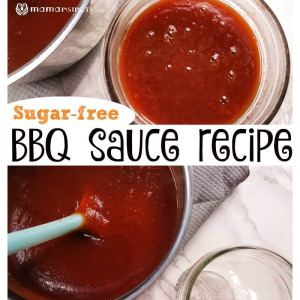 Sugar-free BBQ sauce recipe