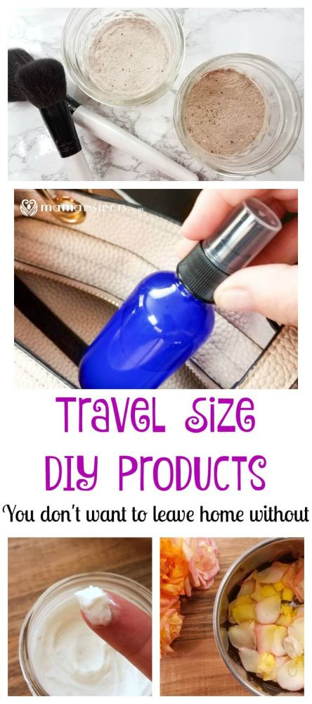 Did you know that most of the products you carry in your bag can be made at home without using toxic chemicals? Check out these simple DIY recipes: translucent powder, hand sanitizer, hand lotion and rose water mist.