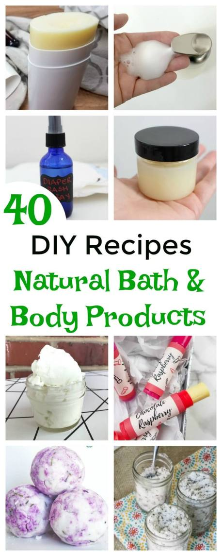 Did you know that most of us come in contact with more than 100 toxic chemicals every morning before we even leave our homes? Make your own DIY bath and body to avoid toxic chemicals and save money. Get this new ebook with 40 recipes for everyone in your family - DIY baby products to DIY self-care products.