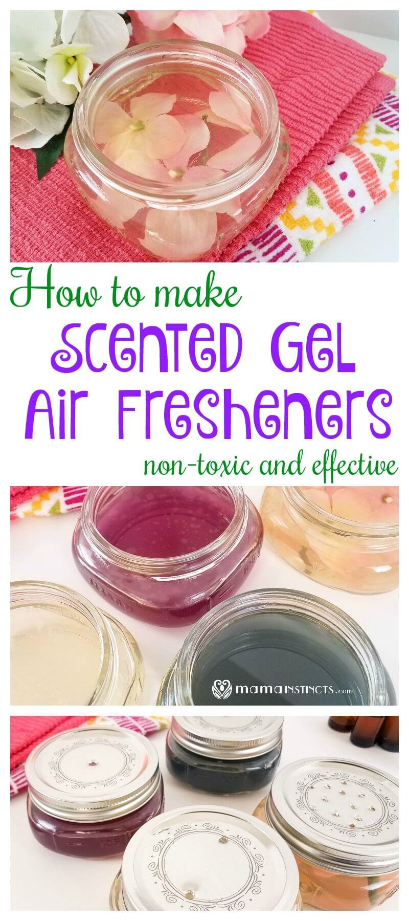 Did you know that most scented gels contain toxic chemicals? Learn how easy it is