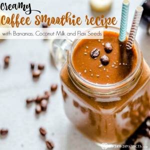 Creamy Coffee Smoothie Recipe with Superfoods