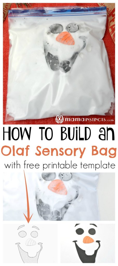 Do you have a Frozen lover? Then you must try this easy sensory activity. Easy to set up even for non-crafty parents, like myself. #kidactivities #sensoryplay